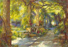 Johan Messely - Promenade provençale