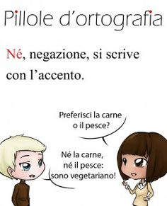 Né o ne? #italianlanguage #italianlesson #linguaitaliana
