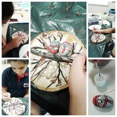 Doğa ve sanat konumuzda ağaç kütükleri ile taşları bir araya getiren öğrencilerimiz sanatın bir başka yönünü keşfettiler. Çevremizde çok fazla rastladığımız bazen görmezden geldiğimiz malzemelerin sanata nasıl dönüştürüleceğini görmüş oldular.