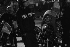 "THRTEEN JAPAN×川崎中部七和會 "" MIDNIGHT SHOOTING"" #thirteenjapan #gang #biker #black #japan #swag #crew"