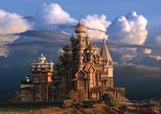 キジ島の木造教会はまるで中世の時間が流れているようなファンタジーの世界 ロシア