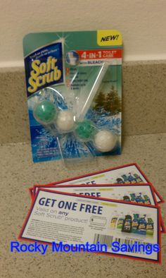 Soft Scrub 4-in-1 Toilet Care Review & Giveaway