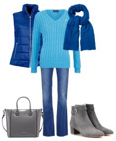 Light summers look great in blue. I went with a cool monochromatic color scheme. Keep it light and bright.  Light summers may be a cool color palette but there a lot of warm colors to wear. Try wearing this bright blue with a coral pink.  Or pop golden yellow with a bag and light pink shoes.