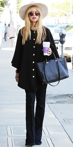 Look of the Day - January 4, 2014 - Rachel Zoe from #InStyle