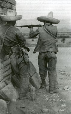 Mexican Civil War - Irregular troops under Pascual Orozco