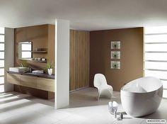 Modern Day Bathroom Design With Graceful Decor - http://www.dedecoration.com/interior-home-design/modern-day-bathroom-design-with-graceful-decor.html