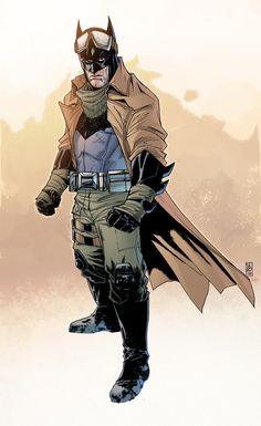 ArtStation - Knightmare Batman, Jeremiah Skipper