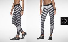 Fashercise Wishlist: Nike Pro Zebra Knit Tights