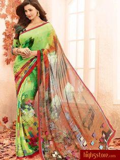 http://www.high5store.com/designer-sarees/306784-stunning-green-bhagalpuri-printed-saree.html