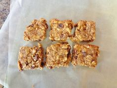 These Whole Grain Muesli Bars are a great packable snack for traveling, school, or work! These gluten free and allergy friendly