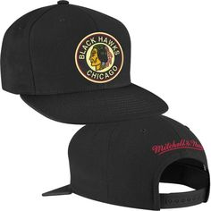 Chicago Blackhawks Vintage Wool Snapback Hat by Mitchell & Ness | SportsWorldChicago.com  #ChicagoBlackhawks