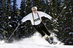 At 95, a Lifelong Skiier Says the Source of His Vitality Is His Workout - WSJ