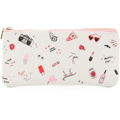 ban.do Get it Together Pencil Pouch ($12) ❤ liked on Polyvore featuring beauty products, beauty accessories, bags & cases, bags, girls just want to fun and bag pencil case