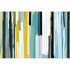 @Overstock.com - Maxwell Dickson 'Ocean' Abstract Canvas Art - Breathe new life into any room by hanging this colorful abstract art canvas on the wall. The vertical lines and bright colors will match a variety of modern decorating styles. The gallery-wrapped edges allow you to hang this canvas without framing.  http://www.overstock.com/Home-Garden/Maxwell-Dickson-Ocean-Abstract-Canvas-Art/6467922/product.html?CID=214117 $50.99