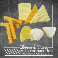 SAY CHEESE for #strong #teeth! Dairy has calcium, proteins and phosphates that protect and remineralize enamel. greatlakesdental.ca