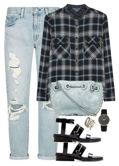 """""""Unbenannt #2274"""" by luckylynn-cdii ❤ liked on Polyvore featuring Denim & Supply by Ralph Lauren, Vince, Balenciaga, Thalia Sodi and Larsson & Jennings"""