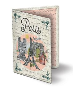 This Globe Trotting Passport Cover is perfect! #zulilyfinds