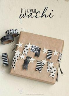 La Petite Anne: Balení dárků s washi páskou
