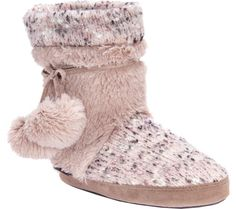 caf4184c5ac8 Women s MUK LUKS Delanie Bootie Slipper - Fairy Dust Solid with FREE  Shipping   Exchanges. The MUK LUKS Delanie Bootie Slipper adds that missing  touch of ...