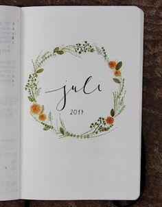 [ dear diary ] mein bullet journal