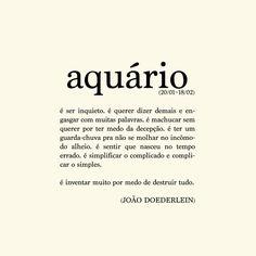 Poema+Aquário