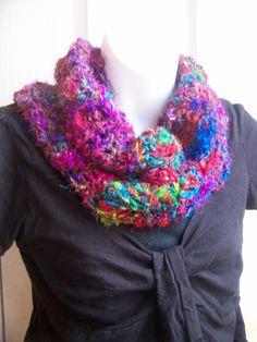 Crochet This! Darn Good Yarn Random Stitch Cowl by Darn Good Yarn | The Best Yarn Store!