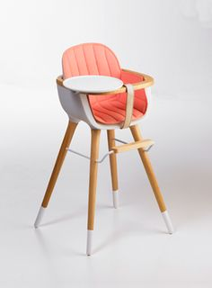 Ovo high chair by Micuna.  Bringing the midcentury modern vibe to junior.