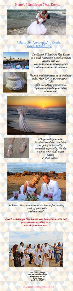 Want To Arrange An Exotic #BeachWedding? - Come With Us! Exotic Beaches, Us Beaches, Exotic Wedding