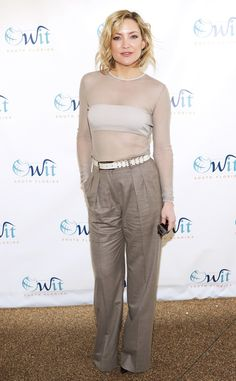Kate Hudson from The Big Picture: Today's Hot Pics  The actress opts for a nude hued ensemble while attending the4th Annual International Business Woman of the Year Awards in Key Biscayne, Florida.