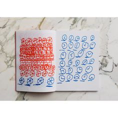 Luc Fuller — Drawings Book — designed by Aurore Chauve