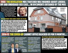 UK: Cabinet office in child abuse cover-up -- Clegg and Cameron accused over 'cover-up'