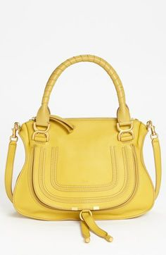 Chloé Marcie - Small Leather Satchel available at #Nordstrom