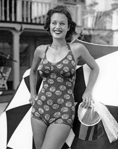0bc95b06de 80 Vintage Babes in Bathing Suits to Celebrate That It s 80 Degrees
