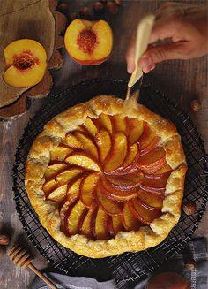 Персиковый пирог - Живые фотографии