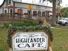 Highlander cafe- crystal river, fl