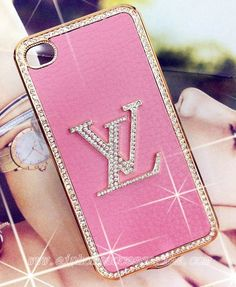 Love it.  Google Image Result for http://www.eiphoneaccessories.com/media/catalog/product/cache/1/image/9df78eab33525d08d6e5fb8d27136e95/b/l/bling-louis-vuitton-iphone-4-case-Pink.jpg  #Fashion, #Pink