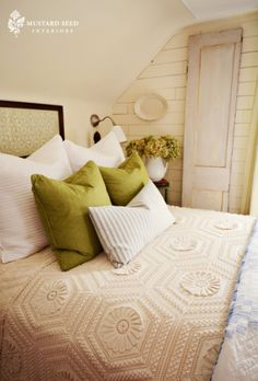 miss mustard seed | guest bedroom