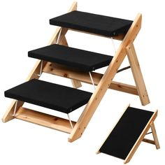 World Pride Folding 2-in-1 Pet Ramp and Stairs for Dog Cat Steps Ladder *** To view further for this item, visit the image link. (This is an Amazon affiliate link)