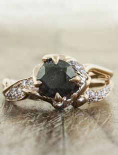 Sundara - Ken & Dana Design...I like the black diamond with this in the rose gold...I think I'd still like some smoky quartz in there...