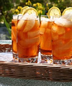 Cool off with these delicious flavored iced tea recipes you can make at home.