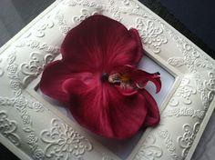 SALE Rockabilly Seductive Burgundy Orchid by MyBeautifulDelilah, $1.50