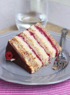 "M's Bakery: Torta "" Vesna "" needs to be Translated to English Brze Torte, Rodjendanske Torte, Torte Recepti, Kolaci I Torte, Bakery Recipes, Cookie Recipes, Torta Recipe, Easy Cake Decorating, Croatian Recipes"