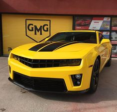 Yellow Camaro, Camaro Concept, Concept Cars, Chevrolet Camaro, Chevelle Ss, Corvette, Super Sport Cars, Hot Rod Trucks, Drifting Cars