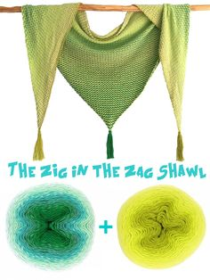 Pick 2 yarn cakes in your favorite colors and crochet this beautiful ZIG in the ZAG Shawl Crochet Shawl, Crochet Yarn, Yarn Cakes, Peppermint Patties, Photo Tutorial, Coin, Shawls, Favorite Color, Tatting