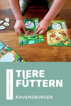 Spielerisch #Lernen mit dem #Lernspiel #Ravensburger Tiere füttern für Kinder ab #3 Jahren. #spiele #spielzeug #geschenkideen Ravensburger, Bamboo Cutting Board, Play Based Learning, Learning Games, Kids Learning, Clearance Toys