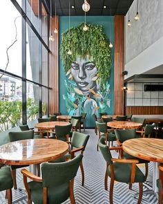 Cafe Shop Design, Coffee Shop Interior Design, Restaurant Interior Design, Commercial Interior Design, Luxury Interior Design, Luxury Decor, Commercial Interiors, Coffee Cafe Interior, Resturant Interior