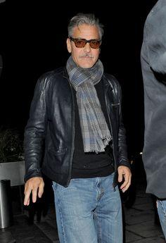George Clooney Mustache Update