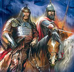 Mongol cataphract of the Golden Horde < https://de.pinterest.com/sashasavchenko/likes/