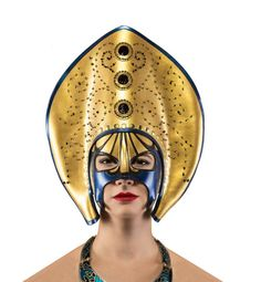 Swarovski Crystal & Pearl Beaded Mask on AHAlife Natural Highlights, Leather Mask, Black Mask, Custom Leather, Pearl Beads, Masquerade, Sculpting, Swarovski Crystals, Pearls