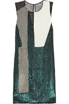 Sequined silk dress by 3.1 Phillip Lim